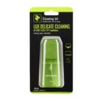 Набір для очищення 2E Lux Green – Рідина 100 мл та серветка з мікрофібри 15×15 см