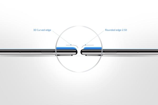 Захисне скло 2E Basic для Samsung Galaxy A70, 3D FG, Black