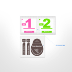 Комплект 2 в 1 Захисне скло 2E Basic для Asus ZenFone Live (L1) ZA550KL, FCFG, Black