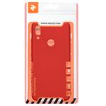 2Е Basic Case for Huawei P Smart Z, Soft feeling, Red