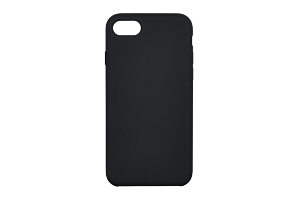 Чохол 2Е для Apple iPhone 7/8, Liquid Silicone, Black