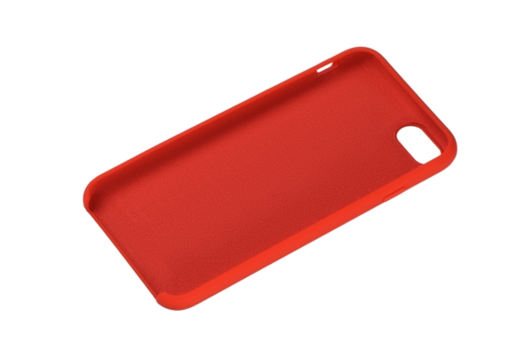 2Е Case for Apple iPhone 7/8, Liquid Silicone, Red