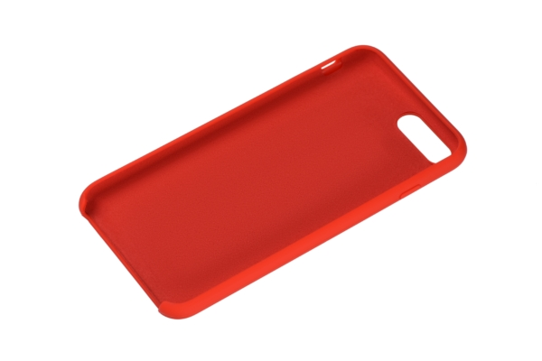 2Е Case for Apple iPhone 7/8 Plus, Liquid Silicone, Red