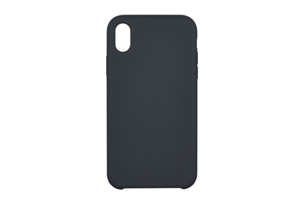 2Е Case for Apple iPhone XR, Liquid Silicone, Carbon Grey