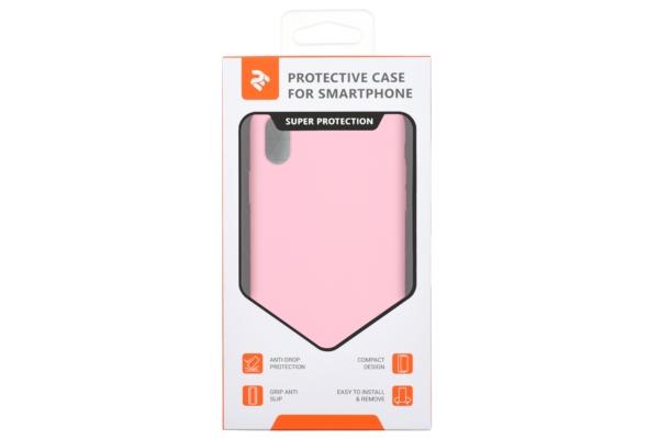 Чохол 2Е для Apple iPhone XR, Liquid Silicone, Rose Pink
