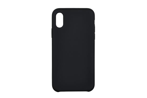 Чохол 2Е для Apple iPhone XS, Liquid Silicone, Black