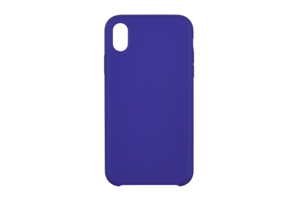 Чохол 2Е для Apple iPhone XS, Liquid Silicone, Deep Purple
