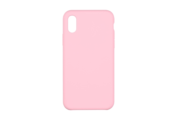 2Е Case for Apple iPhone XS, Liquid Silicone, Rose Pink