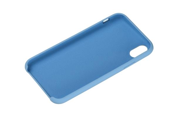 Чохол 2Е для Apple iPhone XS, Liquid Silicone, Skyblue