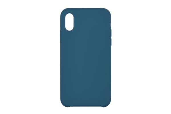 2Е Case for Apple iPhone XS, Liquid Silicone, Starblue