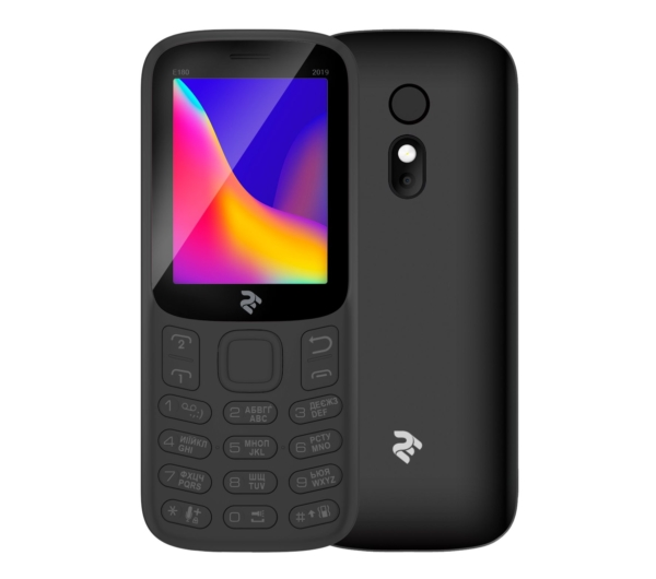 Mobile Phone 2E E180 2019 DualSim Black