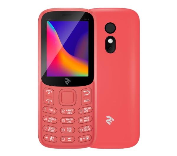 Mobile Phone 2E E180 2019 DualSim Red