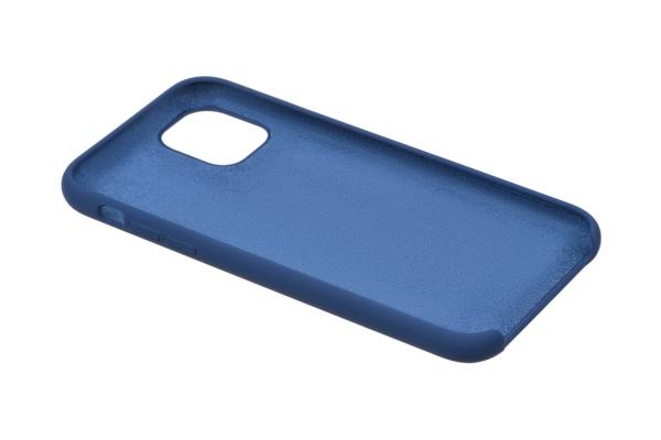 Чохол2ЕдляApple iPhone 11, Liquid Silicone, Navy