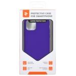 Чохол2ЕдляApple iPhone 11 Pro Max, Liquid Silicone, Dark Purple