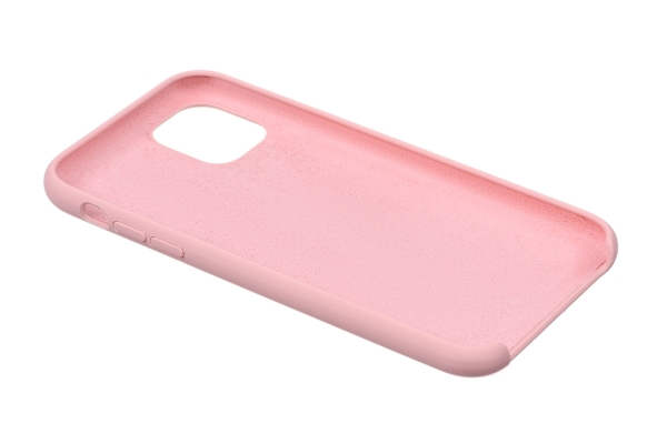 Чохол2ЕдляApple iPhone 11 Pro Max, Liquid Silicone, Pink