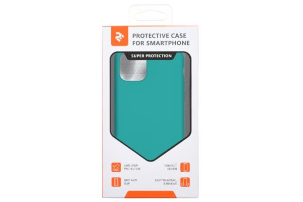 Чохол2ЕдляApple iPhone 11 Pro, Liquid Silicone, Dark Green