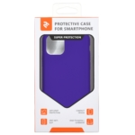 Чохол2ЕдляApple iPhone 11 Pro, Liquid Silicone, Dark Purple
