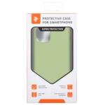Чохол2ЕдляApple iPhone 11 Pro, Liquid Silicone, Light Green