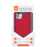 Чохол2ЕдляApple iPhone 11 Pro, Liquid Silicone, Red