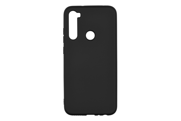 2Е Basic Case for Xiaomi Redmi Note 8, Soft feeling, Black