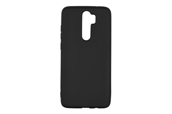2Е Basic Case for Xiaomi Redmi Note 8 Pro, Soft feeling, Black