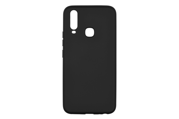 2Е Basic Case for VIVO Y15/Y17, Soft feeling, Black