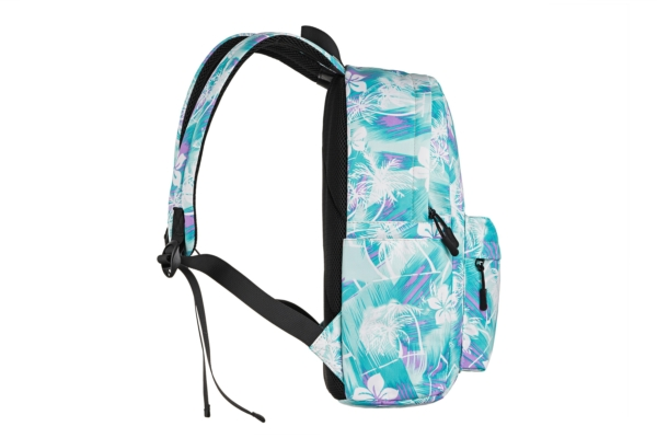 Рюкзак для ноутбука 2E BPT6114GB, TeensPack Wildflowers, Green/Blue