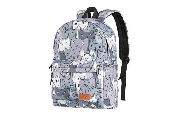 Рюкзак для ноутбука 2E BPT6114GC, TeensPack Cats, Grey