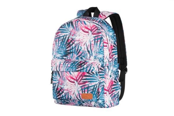 Рюкзак для ноутбука 2E BPT6114PK, TeensPack Palms, Pink