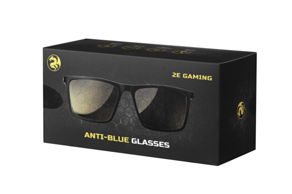 Захисні окуляри 2Е Gaming Anti-Blue Glasses Black-Yellow