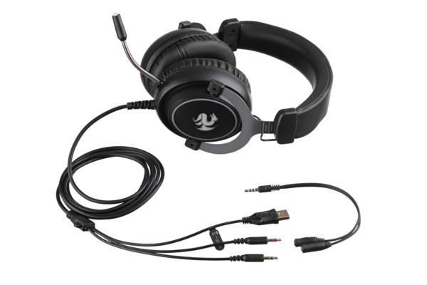 Gaming Headset 2E Gaming HG320 Black
