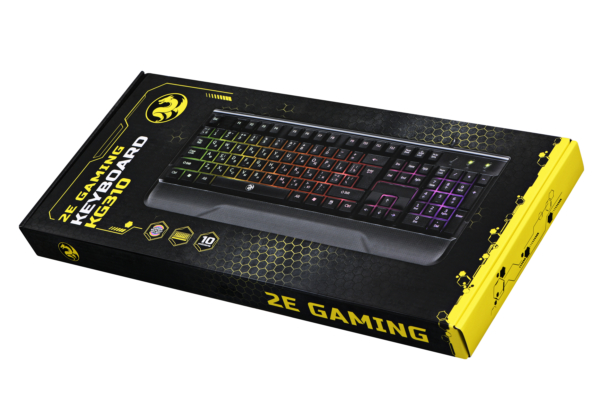 Клавиатура 2E Gaming KG310 LED USB Black