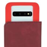 Чохол 2E Silk Touch універсальний для смартфонів з діагоналлю 4.5-5″, Сarmine red