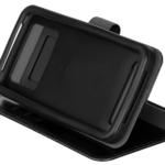 Чохол 2E Eco Leather універсальний для смартфонів з діагоналлю 5.5-6″, Black