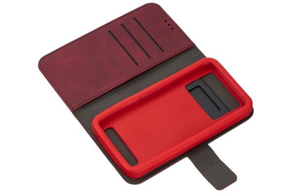 Чохол 2E Silk Touch універсальний для смартфонів з діагоналлю 5.5-6″, Сarmine red