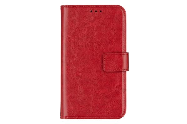 Чохол 2E Eco Leather універсальний для смартфонів з діагоналлю 6-6.5″, Red