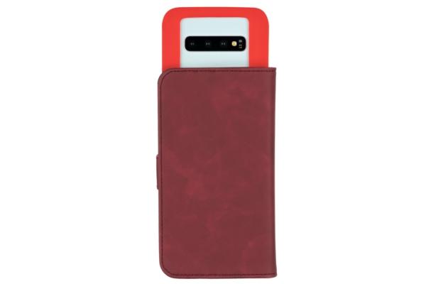 Чохол 2E Silk Touch універсальний для смартфонів з діагоналлю 6-6.5″, Сarmine red