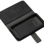 Чохол 2E Silk Touch універсальний для смартфонів з діагоналлю 6-6.5″, Smoky black