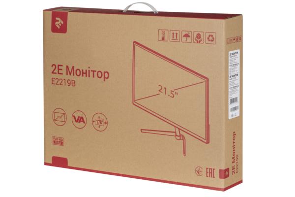 Монітор 2E E2219B Black