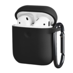 Чохол 2Е для Apple AirPods, Pure Color Silicone (3.0mm), Black