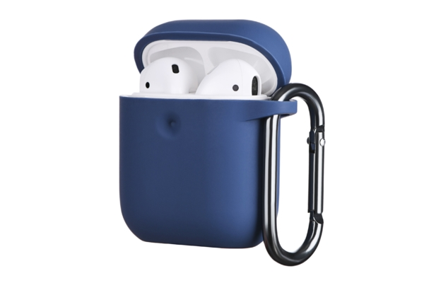 Чохол 2Е для Apple AirPods, Pure Color Silicone (3.0mm), Navy