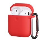Чохол 2Е для Apple AirPods, Pure Color Silicone (3.0mm), Red
