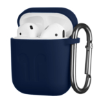 Чохол 2Е для Apple AirPods, Pure Color Silicone Imprint (1.5mm), Navy