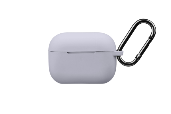 Чохол 2Е для навушників Apple AirPods Pro, Pure Color Silicone (2.5mm), Grey