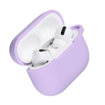 Чохол 2Е для навушників Apple AirPods Pro, Pure Color Silicone (2.5mm), Light purple