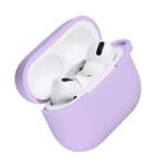 Чохол 2Е для навушників Apple AirPods Pro, Pure Color Silicone (2.5mm), Light purple