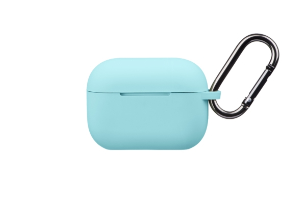 Чохол 2Е для навушників Apple AirPods Pro, Pure Color Silicone (2.5mm), Mint