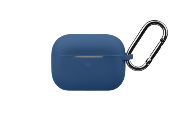 Чохол 2Е для навушників Apple AirPods Pro, Pure Color Silicone (2.5mm), Navy