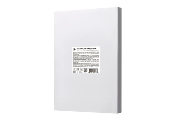Плівка для ламінування 2E A3, глянсова поверхня, 150 мкм, 100 шт