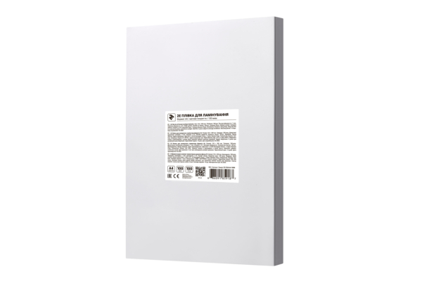 Плівка для ламінування 2E A4, матова поверхня, 100 мкм, 100 шт